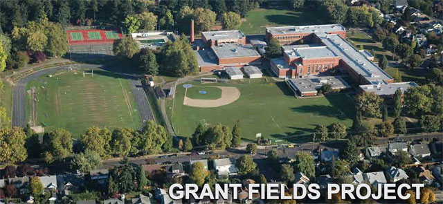 Grant Sports Field Improvements The City Of Portland Oregon