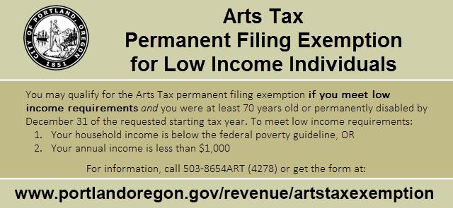 Arts Tax The City Of Portland Oregon