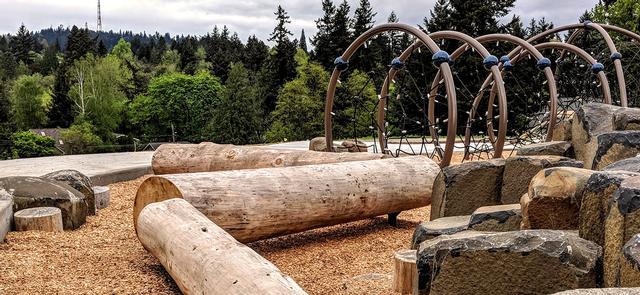 Spring Garden Park The City Of Portland Oregon