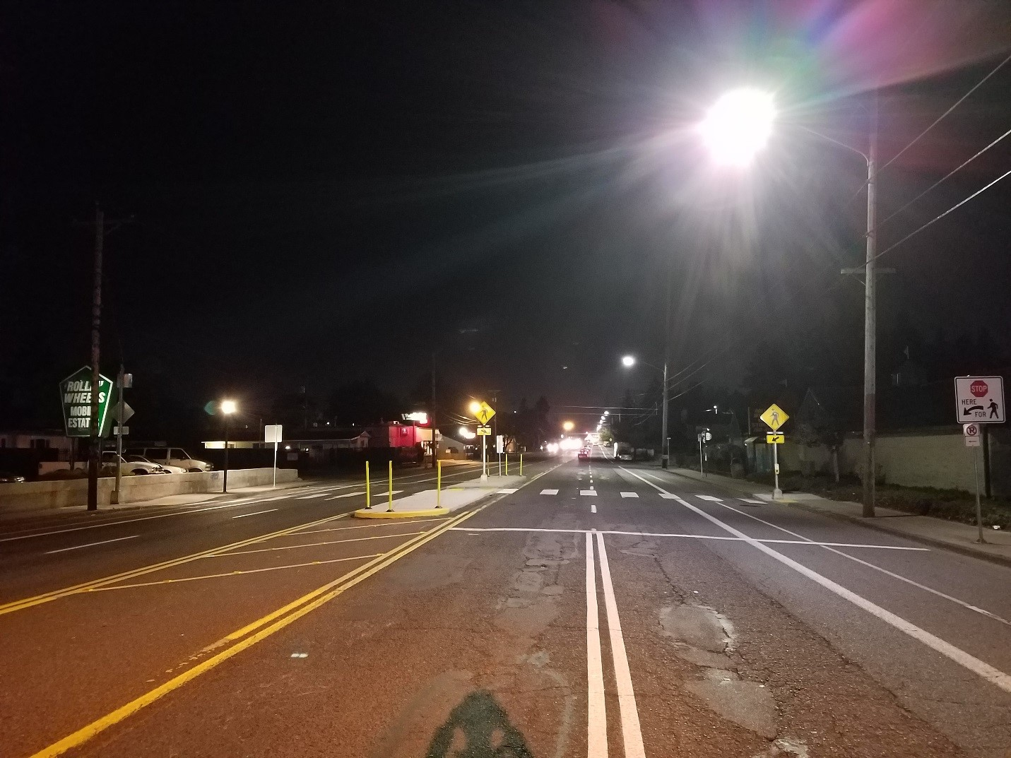 Lighting Portland For Safety Traffic